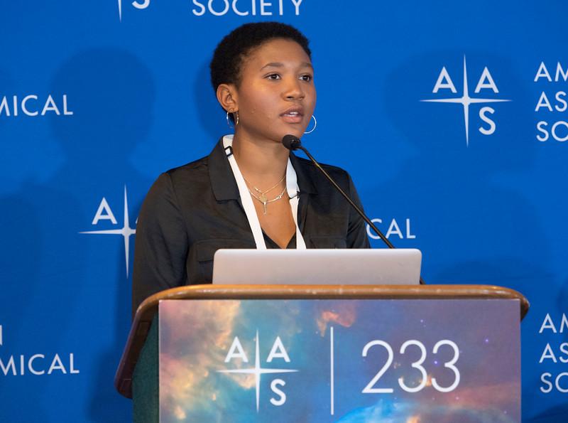 Amalya Johnson - Press Conference- Black Holes and Galaxies Near & Far