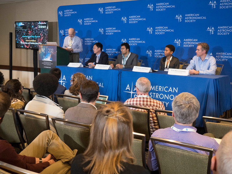 Xiaohui Fan, Dheeraj Pasham, Amalya Johnson and Erik Rosolowsky - Press Conference- Black Holes and Galaxies Near & Far