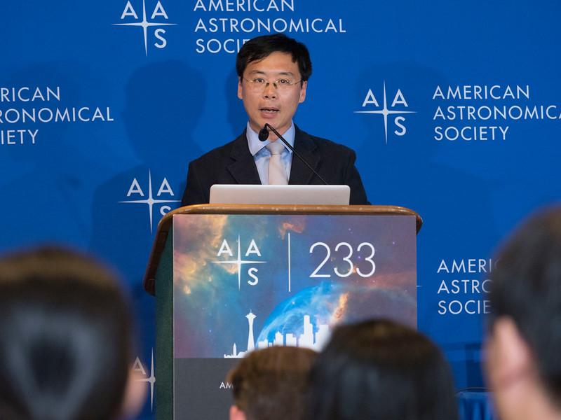 Xiaohui Fan - Press Conference- Black Holes and Galaxies Near & Far