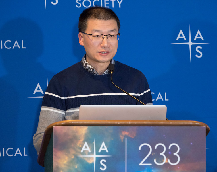 Renbin Yan - Press Conference - The Sloan Digital Sky Survey Keeps Going & Going