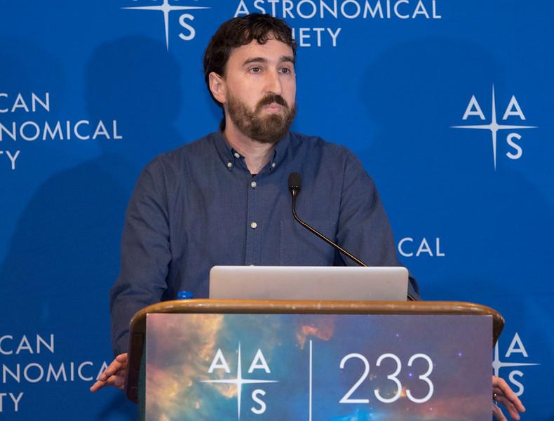 David Nidever - Press Conference - The Sloan Digital Sky Survey Keeps Going & Going