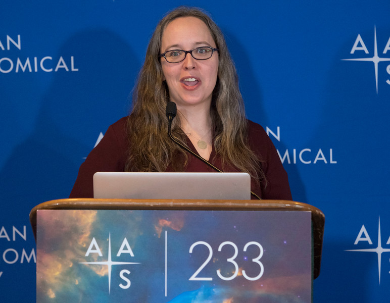 Karen Masters - Press Conference - The Sloan Digital Sky Survey Keeps Going & Going