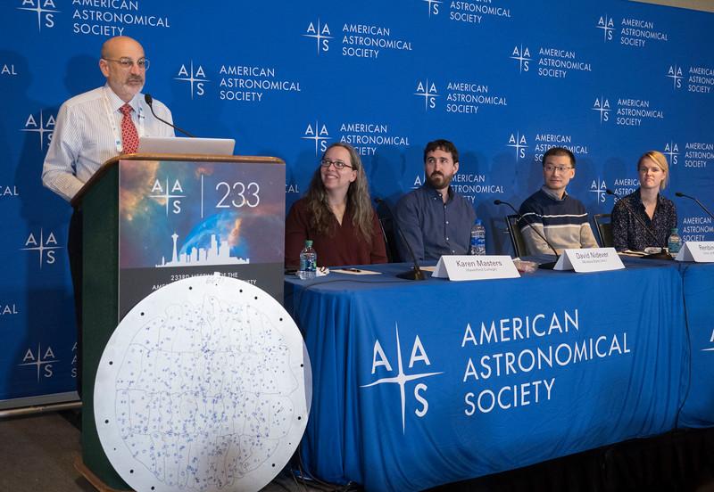 Karen Masters, David Nidever, Renbin Yan and Rebecca Nevin - Press Conference - The Sloan Digital Sky Survey Keeps Going & Going