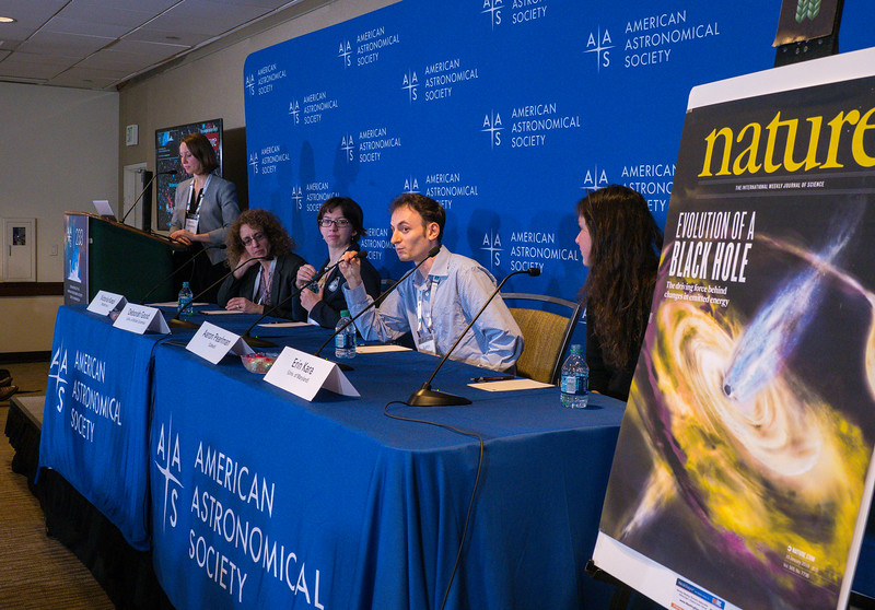 Presenters speak - Press Conference: Things that go bump in the night sky