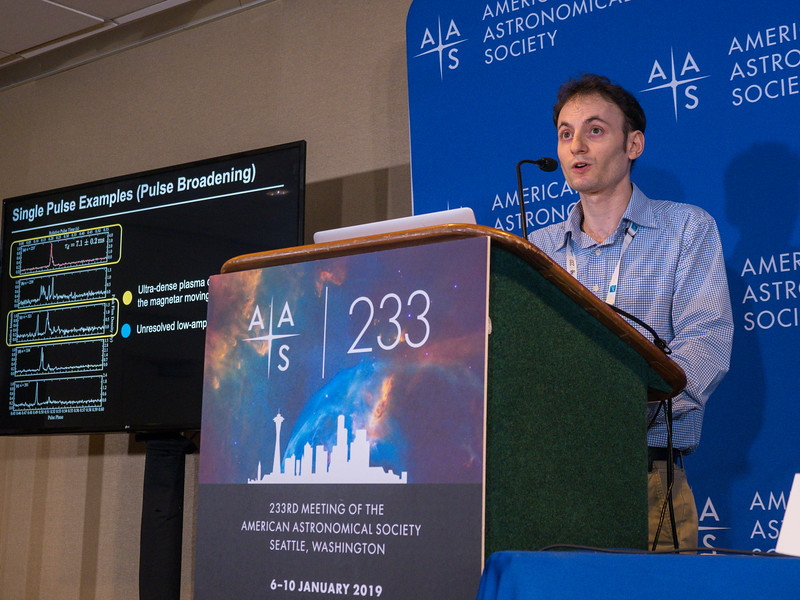 Aaron Pearlman speaks - Press Conference: Things that go bump in the night sky