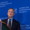 George Ricker - Press conference: Early Science from the Transiting Exopanet Survey Satelite