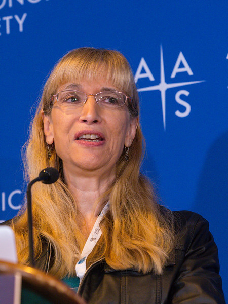 Joan Schmelz speaks - Press conference: Stars and Planets from Sofia, Spitzer and Citizen Scientists