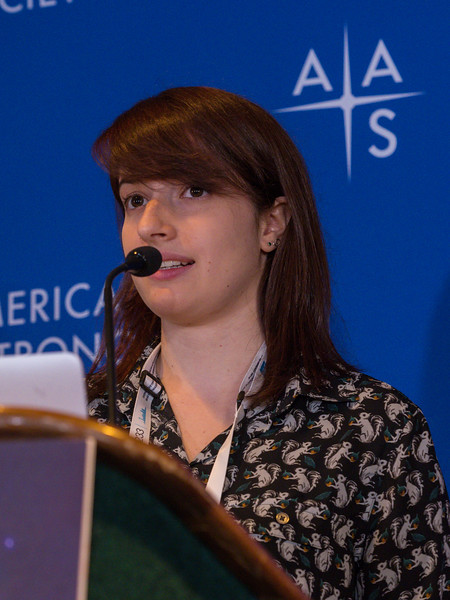 Adina Feinstein speaks - Press conference: Stars and Planets from Sofia, Spitzer and Citizen Scientists