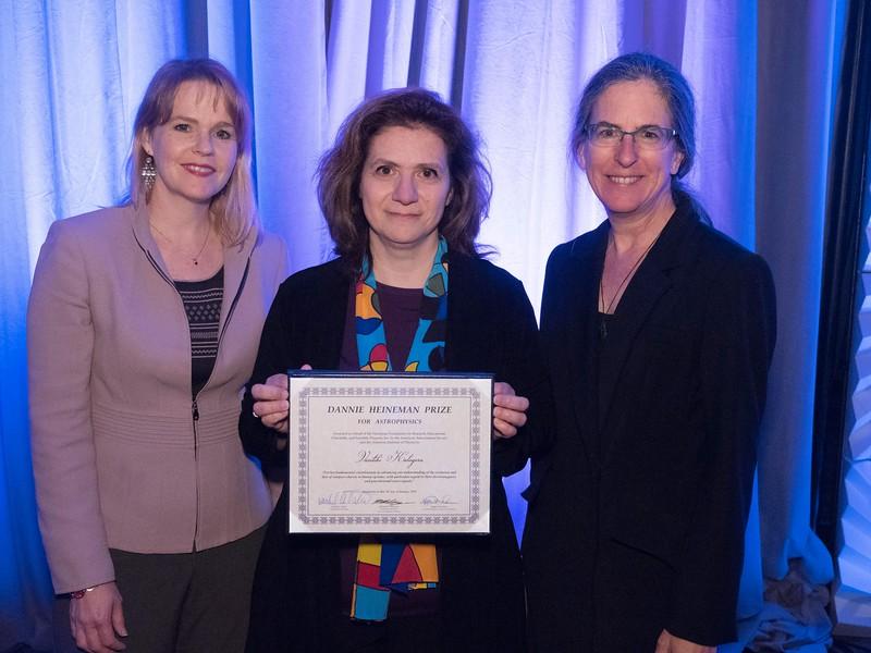 Vicky Kalogera - Heineman Prize