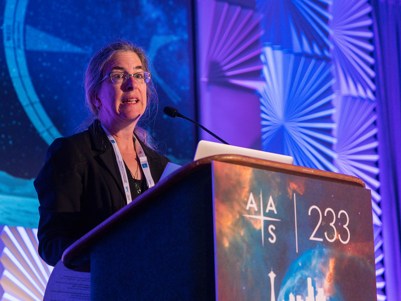 AAS President Megan Donahue speaks - Opening Session 100: Welcome Address