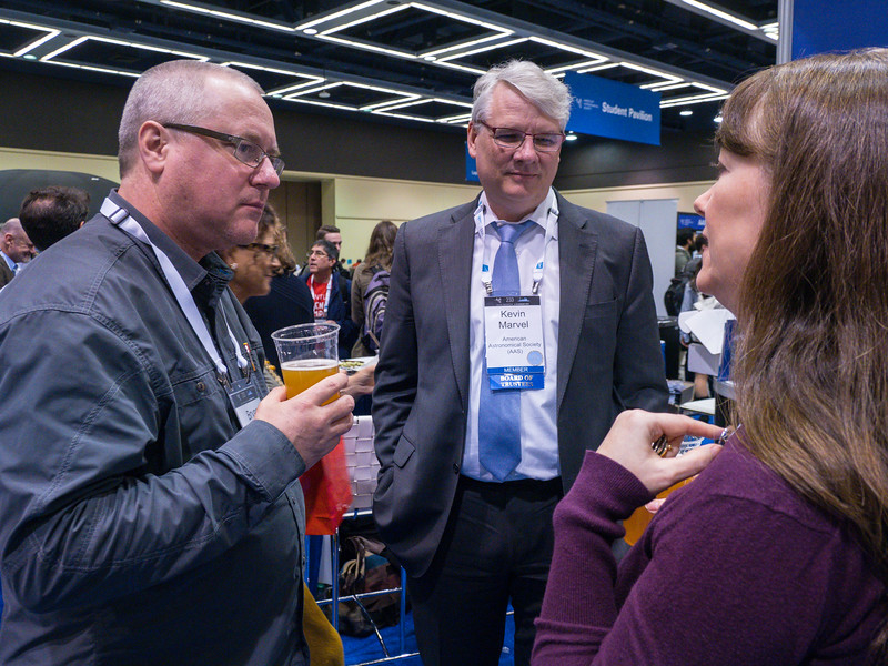 Attendees and editors - AAS Publishing Happy Hour