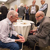 Attendees chat - Donors, Sponsors, and 40+E Reception