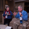 Attendees chat - Past Presidents and Officers Reception