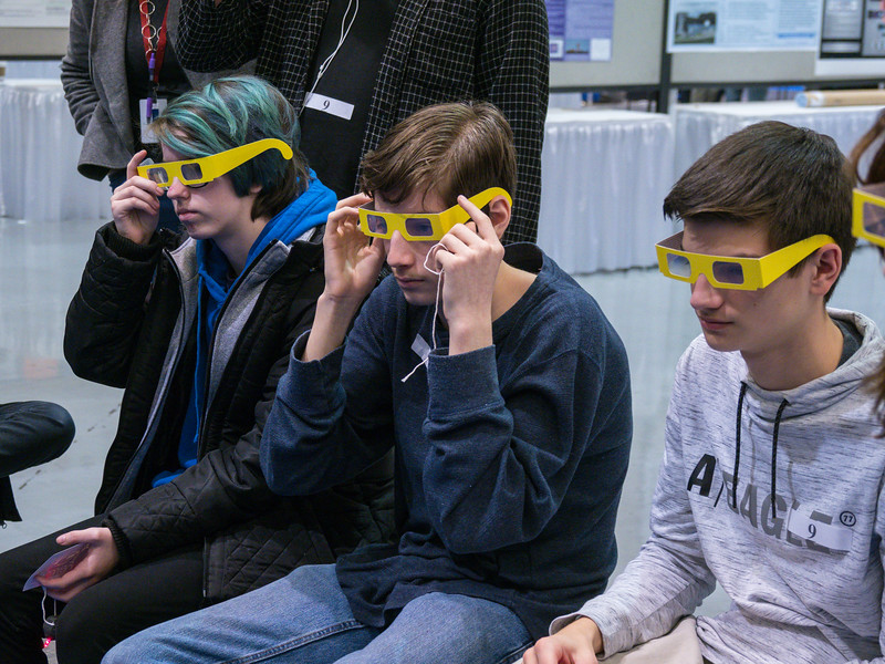 Local students - Local Student EPO Event Activities in the exhibit hall