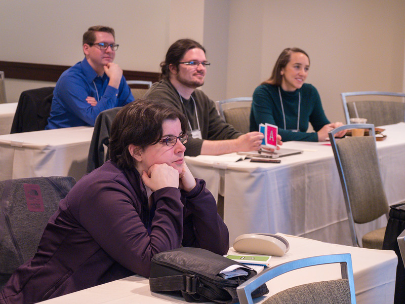 Speakers and attendees - Workshop: CAE's Tier I Teaching Excellence