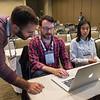 Attendees work together - Workshop: Hack Together Day