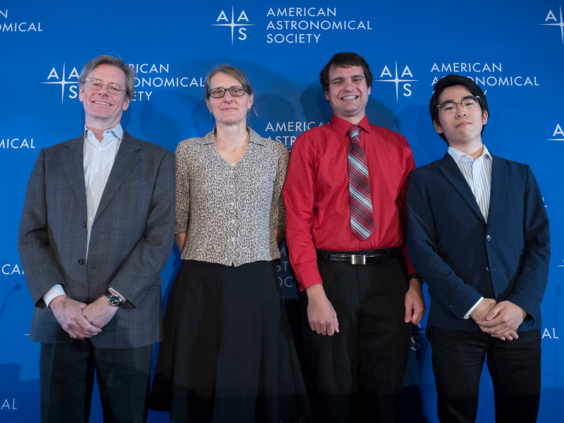 Christopher Johns-Krull, Lisa A. Prato, Edward Schwieterman and Yuta Notsu - Press Conference: Exoplanets, Flare Stars, and a Crab
