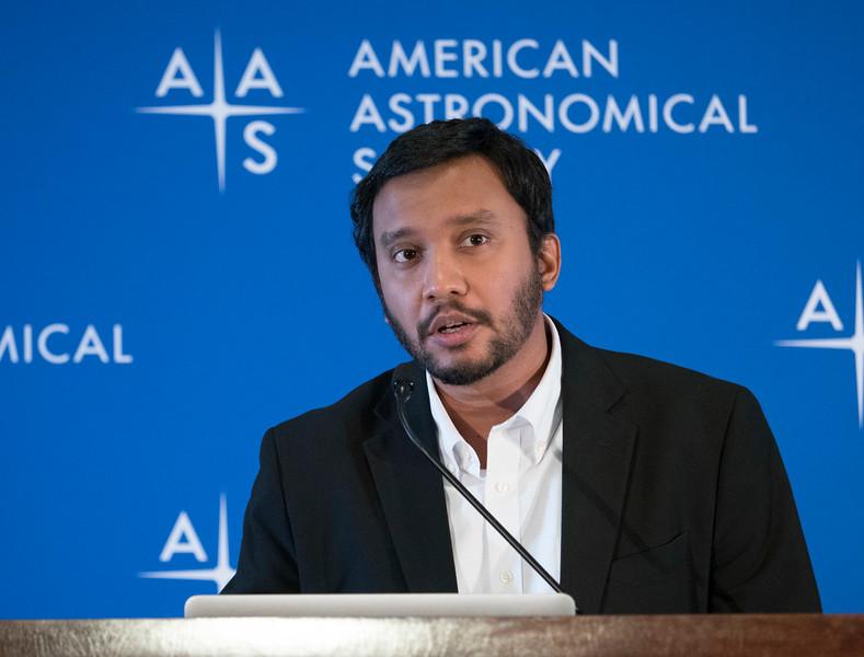 M. Shameer Abdeen - Press Conference: Spiral Galaxies Near and Far
