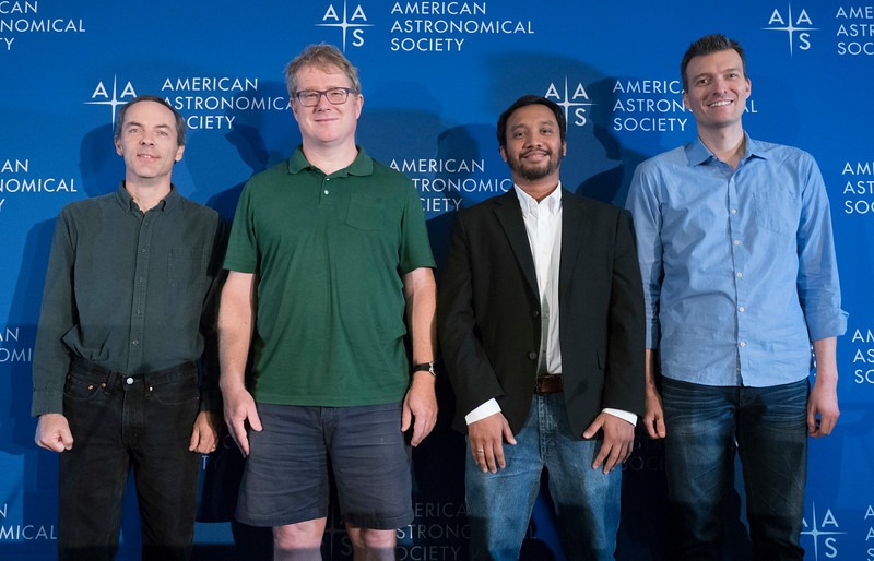 C. Darren Dowell, Daniel J. Kennefick, M. Shameer Abdeen and Patrick M. Treuthardt - Press Conference: Spiral Galaxies Near and Far