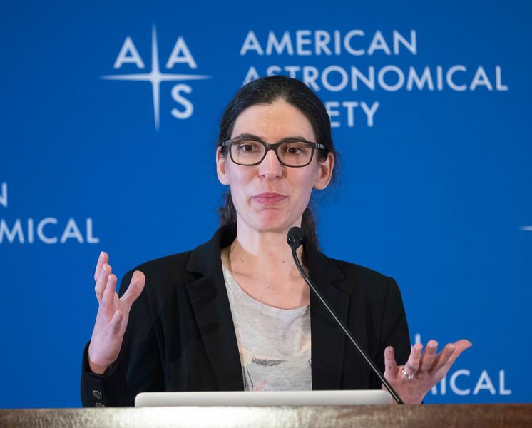Ana Bonaca - Press Conference: More Sun and More Milky Way
