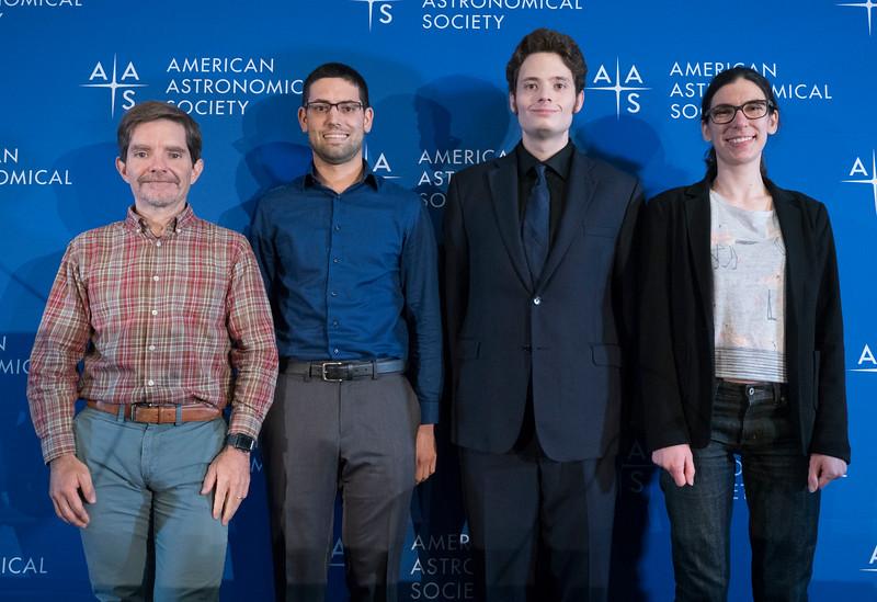 Kevin P. Reardon, Loren Matilsky, Jacob Bernal and Ana Bonaca - Press Conference: More Sun and More Milky Way