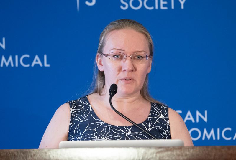 Irina Kitiashvili - Press Conference: Even More Sun and More Milky Way