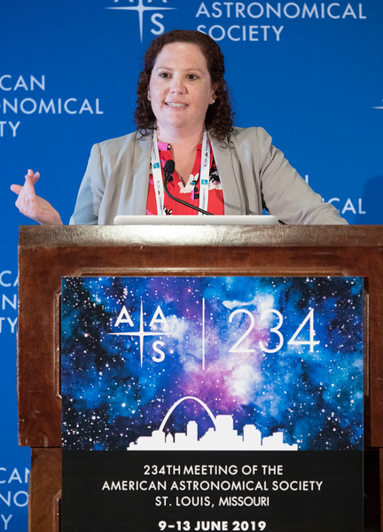 Allison M. Kirkpatrick - Press Conference: Cold Quasars and Hot Cosmology