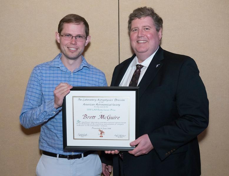 Brett McGuire - LAD Award Lecture