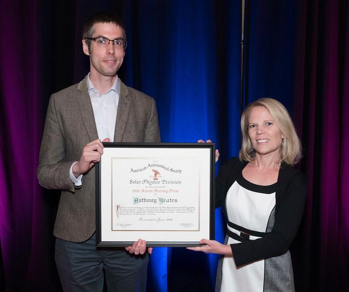 Anthony Yeates - SPD Harvey Prize