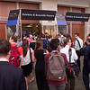 Attendees enter - Exhibit Hall