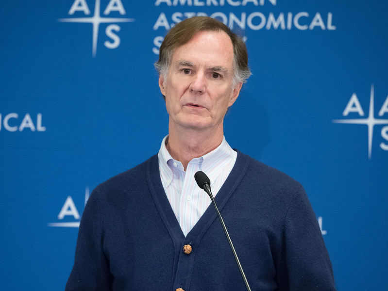 Edmund Bertschinger  - Press Conference: TEAM-UP for Physics& Astronomy
