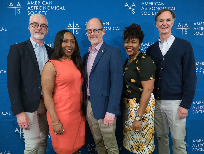 Michael Moloney, Arlene Modeste Knowles, Bo Hammer, Jedidah C. Isler and Edmund Bertschinger - Press Conference: TEAM-UP for Physics& Astronomy