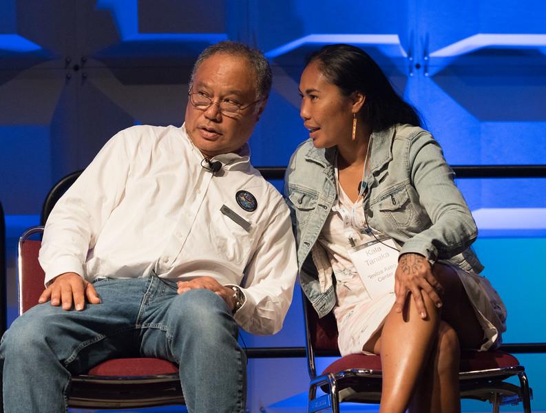Kālepa Baybayan & Kayla Baybayan Tanaka