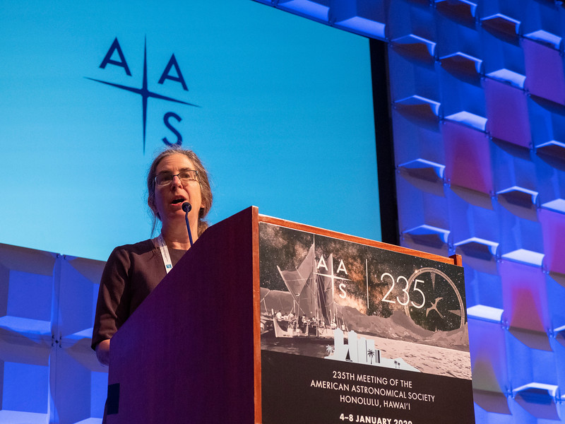 Welcome Address: Megan Donahue, AAS President
