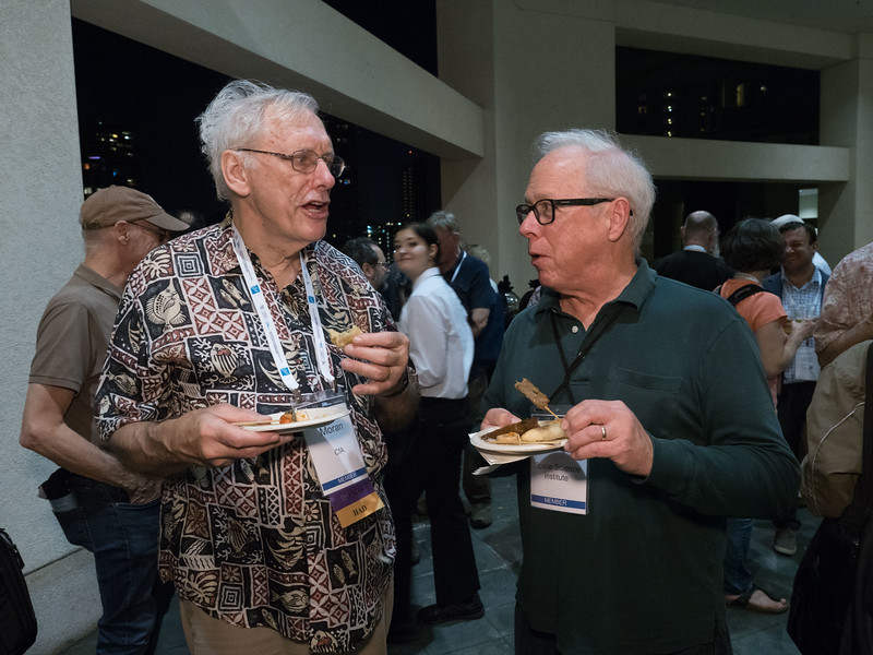 Attendees - AAS 40+E Reception