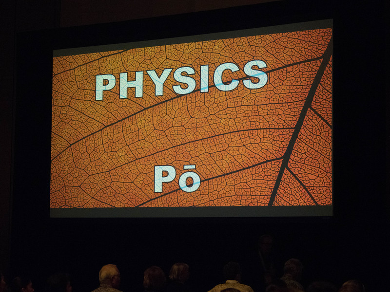 Attendees - Public Event: Physics  of Po
