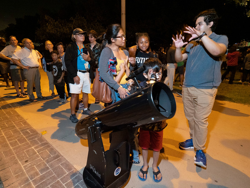 Locals and attendees - Star Gazing Party