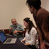 Attendees work together - Workshop: The 2nd AAS Chandra/CIAO Workshop