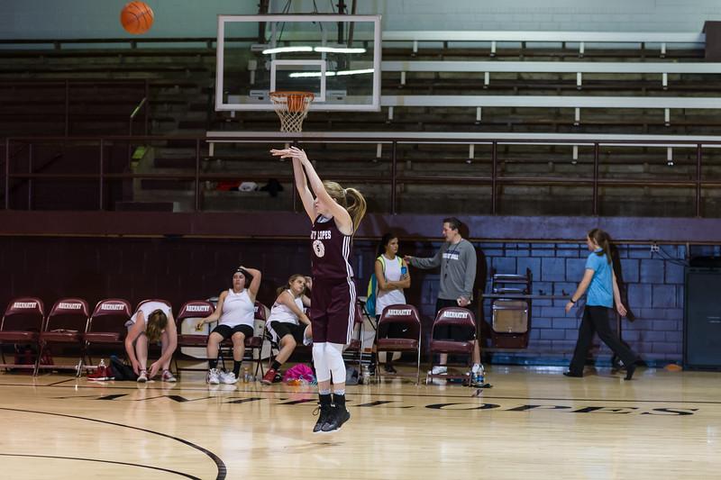AAU Summer Basketball, Lady Lopes vs Whitharrell, 5-24-2016