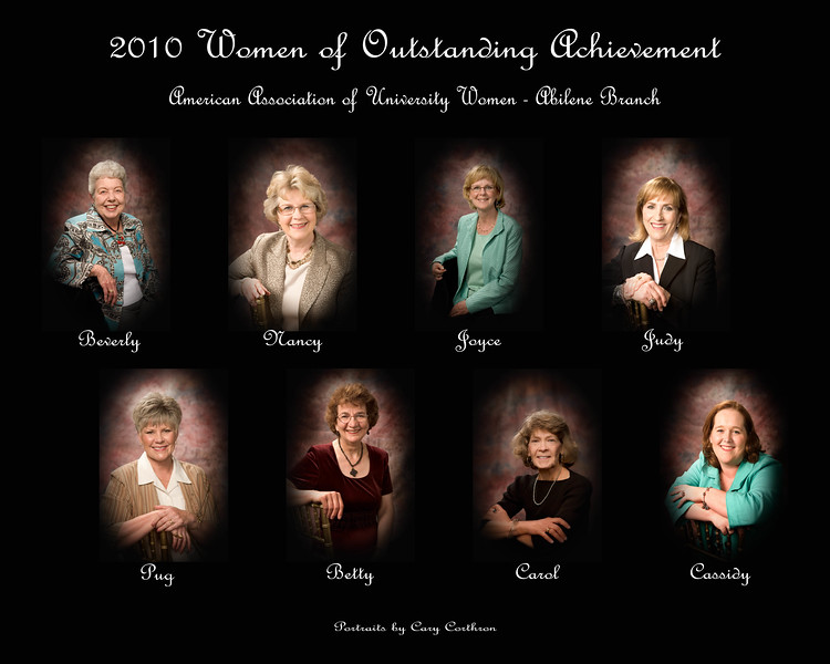2010 AAUW-Abilene Women of Outstanding Achievement