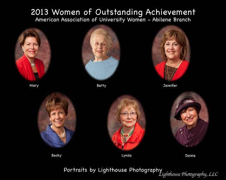 2013 AAUW-Abilene Women of Outstanding Achievement