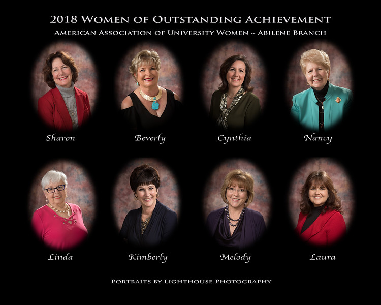 2018AAUW-Abilene Women of Outstanding Achievement
