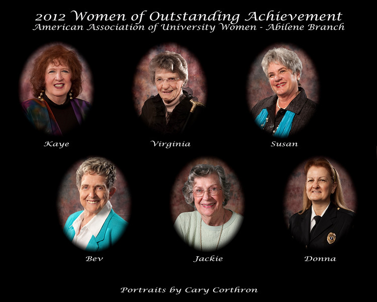 2012 AAUW-Abilene Women of Outstanding Achievement