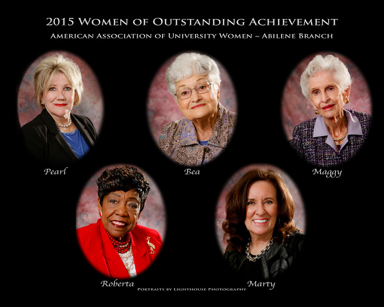 2015 AAUW-Abilene Women of Outstanding Achievement