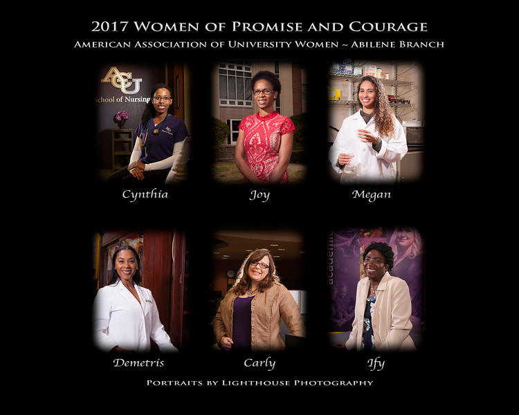 2017 AAUW-Abilene Women of Promise and Courage