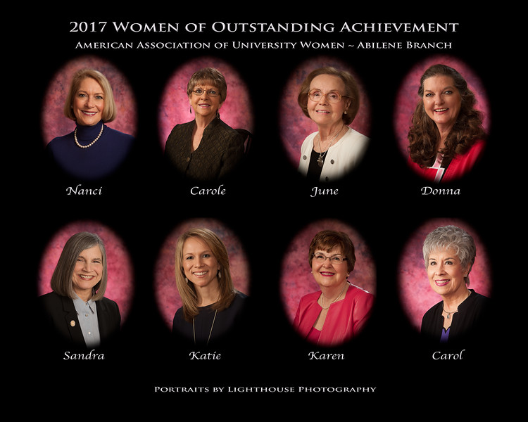 2017 AAUW-Abilene Women of Outstanding Achievement