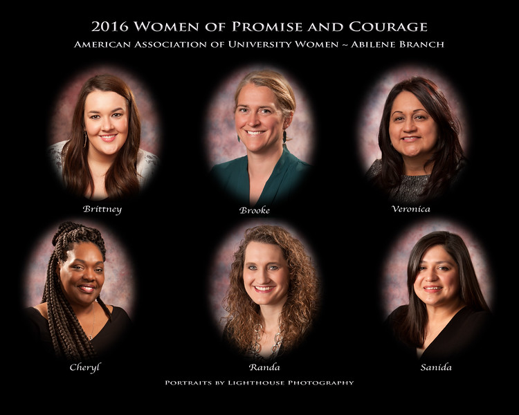 2016 AAUW-Abilene Women of Promise and Courage