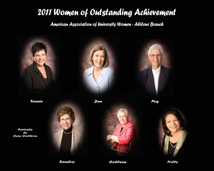 2011 AAUW-Abilene Women of Outstanding Achievement