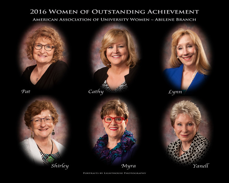 2016 AAUW-Abilene Women of Outstanding Achievement