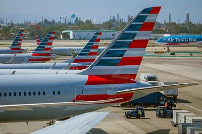 American Airlines Boeing 787-9 N822AN 8-18-17